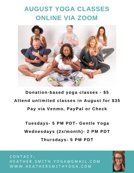 July Online Yoga Class copy