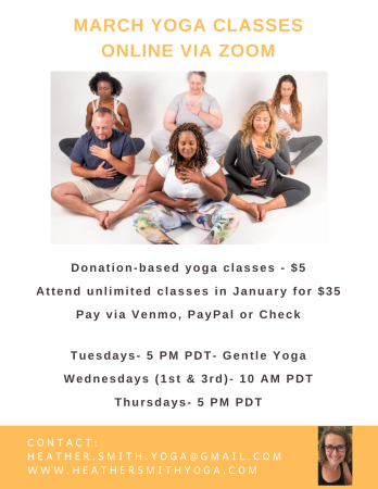 March Yoga Class