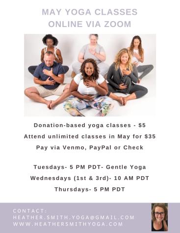 May Yoga Class
